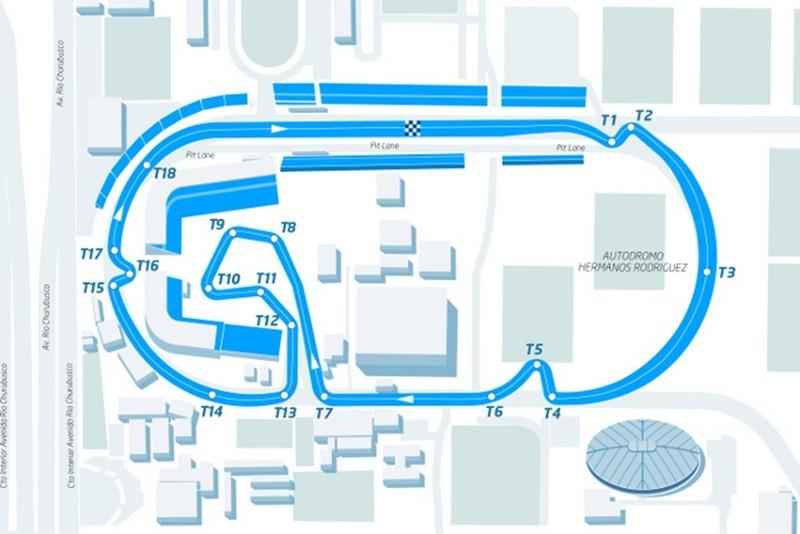 Tracciato ePrix di Città del Messico