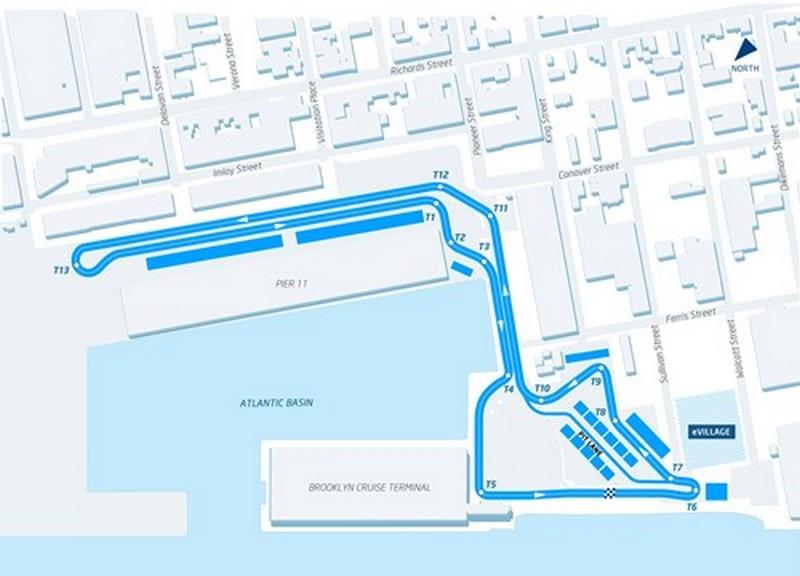 Tracciato ePrix di New York (2 Gare)