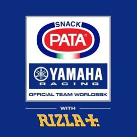 Team Pata Yamaha Official WorldSBK Team logo
